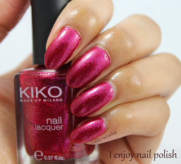 I Enjoy Nail Polish: Kiko Cranberry Microglitter