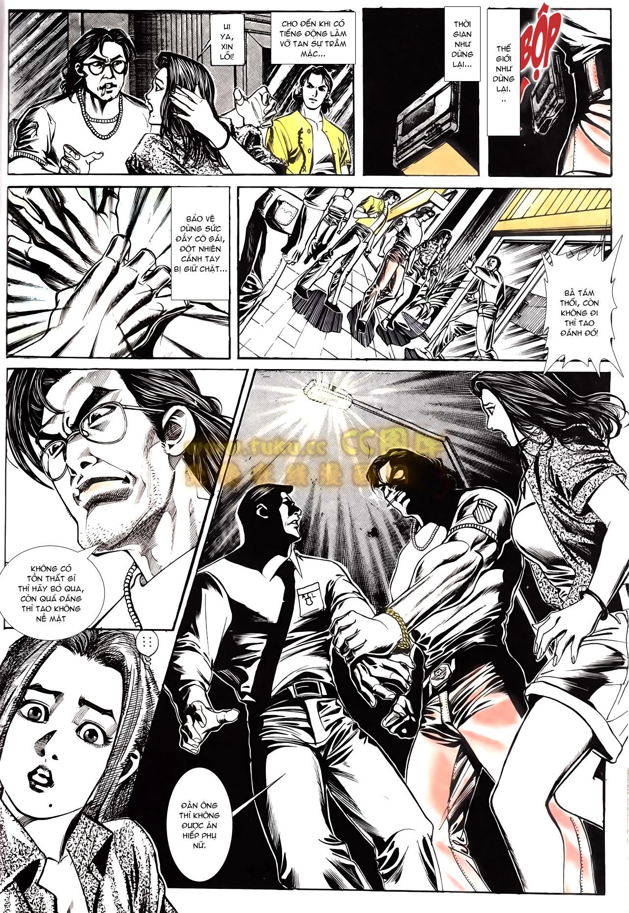 Người Trong Giang Hồ chapter 166: bùng nổ trang 3