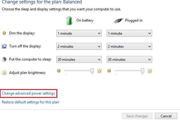 Beginilah Cara Mengatur atau Mengubah Tingkat Pemberitahuan Baterai Rendah di Windows 8, 10 3