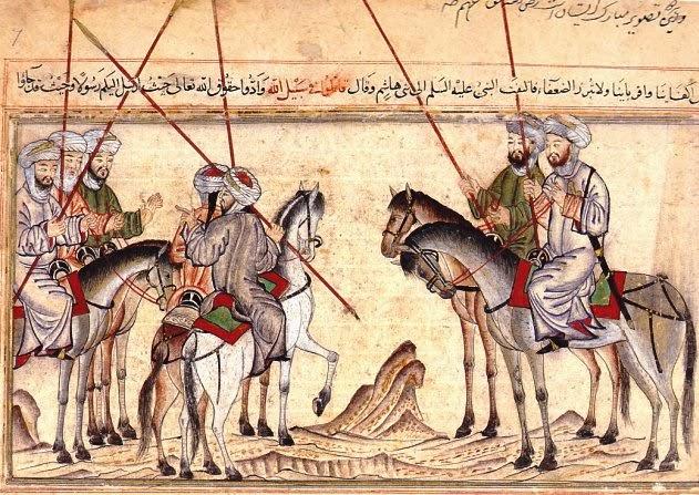Mohammed+Battle+of+Badr+by+Rashin+al-din