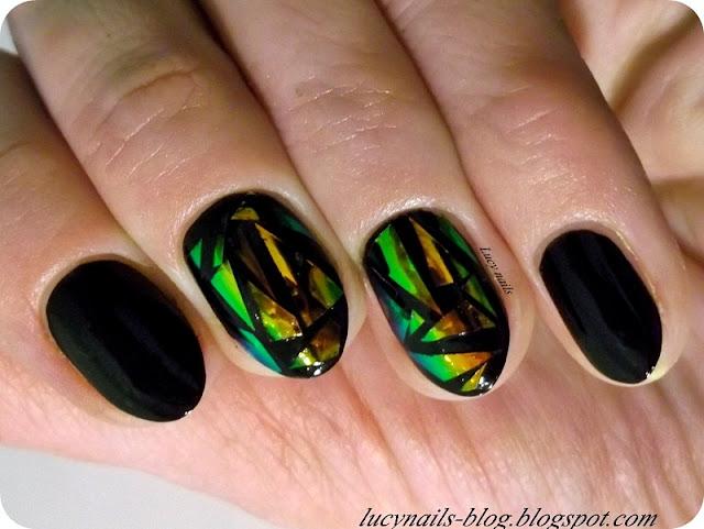 Glass nails  efekt tłuczonego szkła