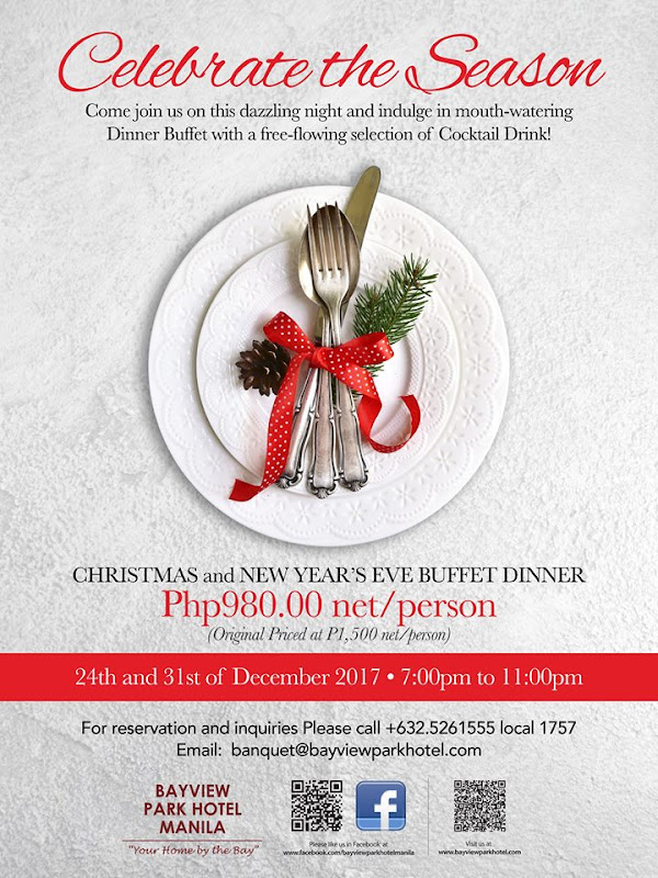 Where to Celebrate Christmas in Hotels in Metro Manila