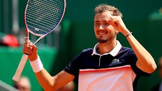 Medvedev stuns Djokovic to reach Monte Carlo semis