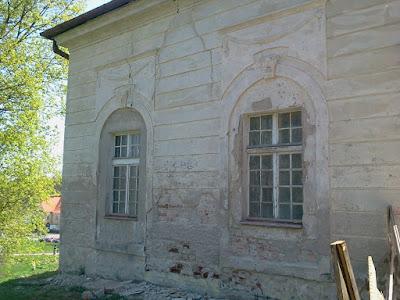 Оранжерия на Игнаси Красицки преди санирането