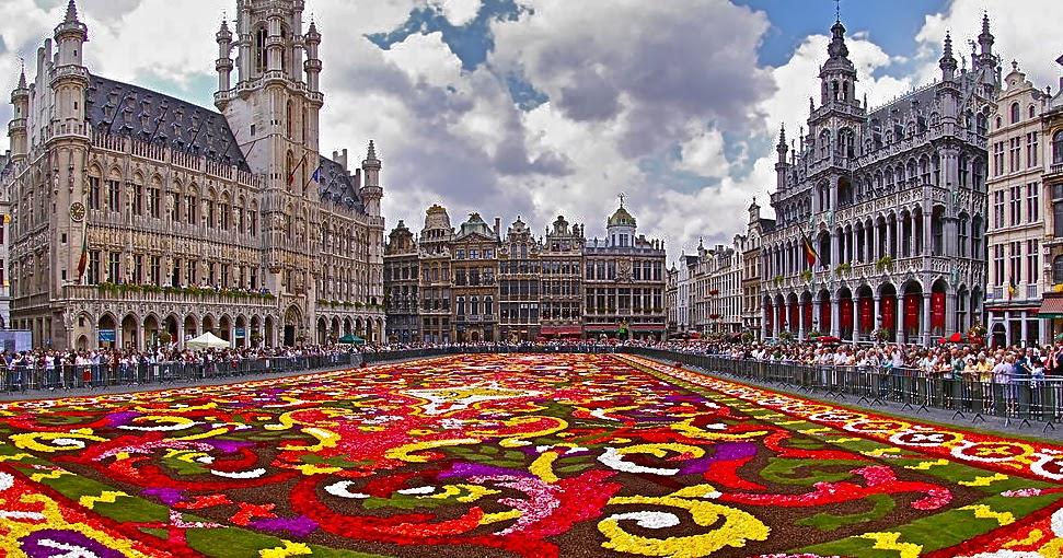 Amazing Belgium: Flower carpet Brussels