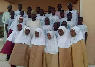 Group photo of the 23 Bauchi students before they were killed in ghastly auto crash