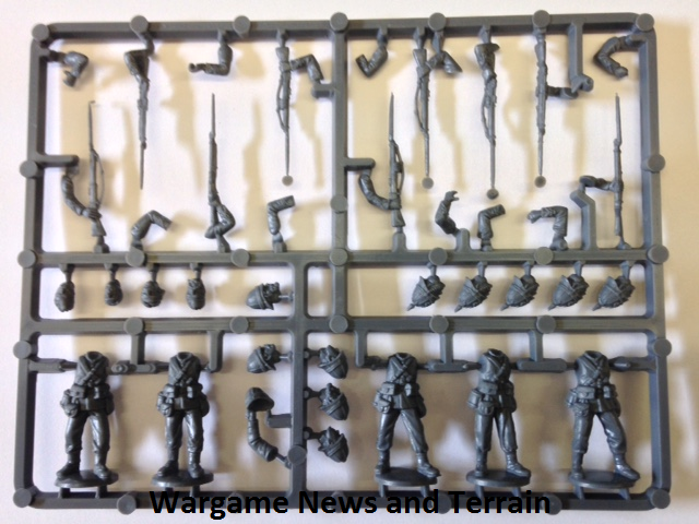 Perry Miniatures: Plastic British Zulu War Infantry Soldier Sprue
