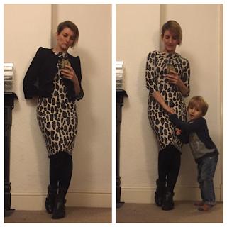 Boden Animal Print Dress