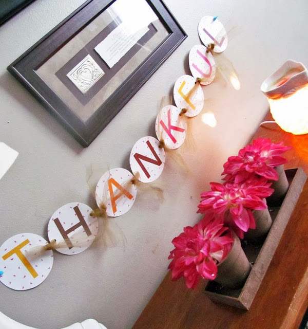 Free Thanksgiving and Fall Decorations