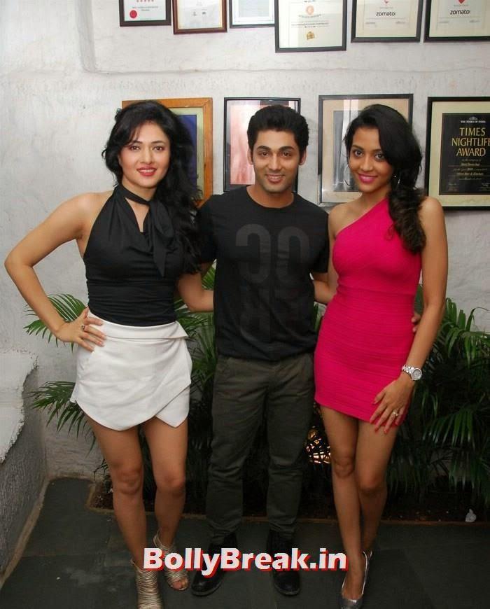 Sonal Sehgal, Ruslaan Mumtaz, Nirali, Ruslaan Mumtaz's Wife Nirali Pics in Red Dress
