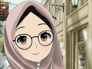 Gambar Wallpaper Animasi Muslimah
