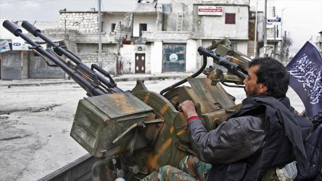 Siria denuncia apoyo militar de EEUU a los grupos terroristas