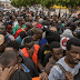 170 pasajeros haitianos fueron declarados inadmisibles en el aeropuerto van ser enviados a su país