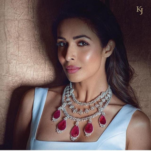 Malaika Arora Khrurana Jewellery ad