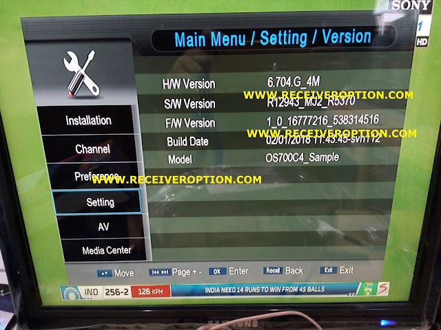ECHOLINK 2017 HD RECEIVER AUTO ROLL POWERVU KEY SOFTWARE