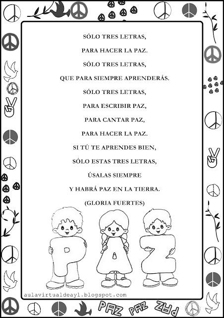 Frases Infantiles Sobre El Dia De La Paz Imagui