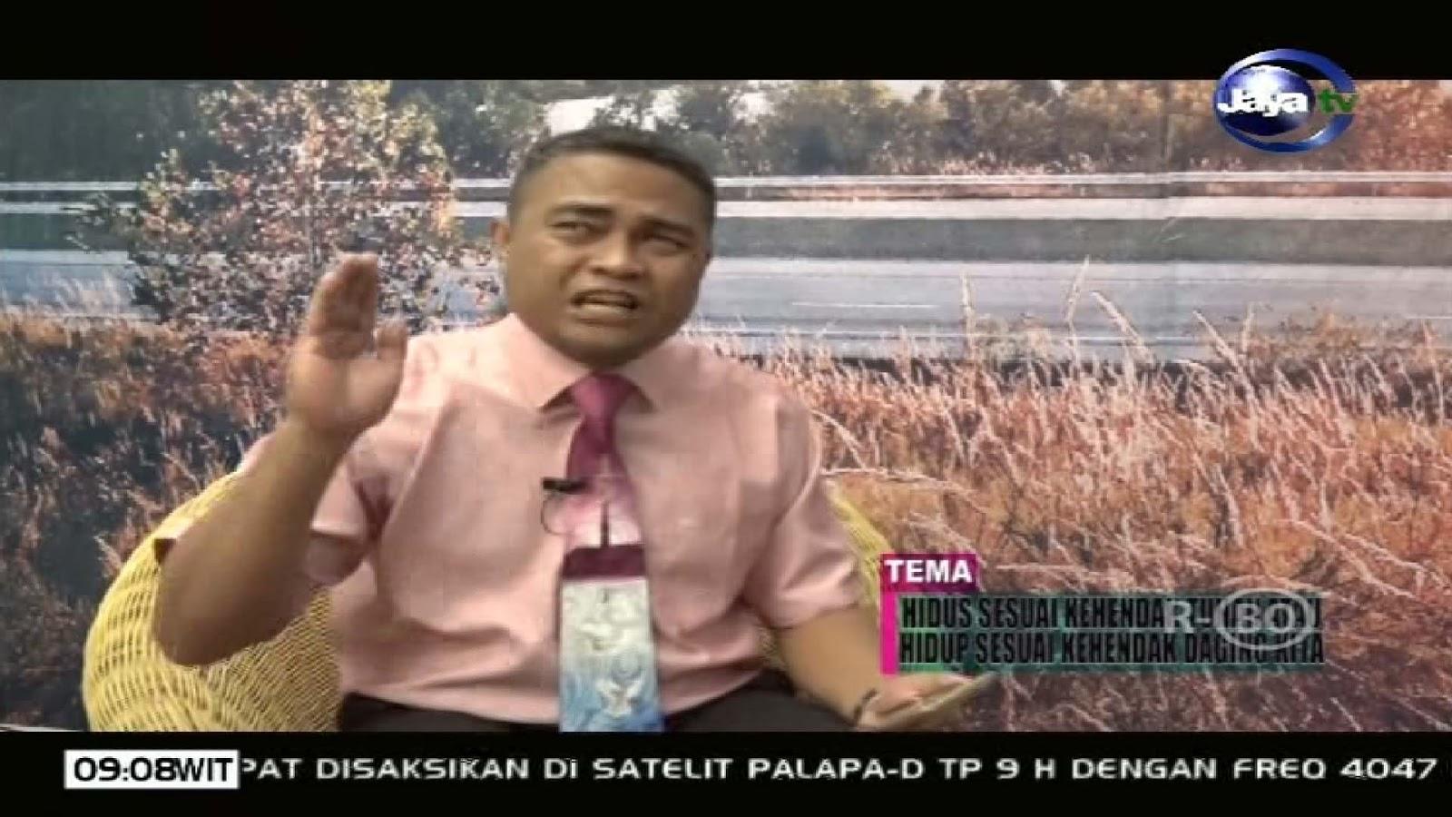 Frekuensi siaran Jaya TV di satelit Palapa D Terbaru