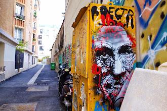 Sunday Street Art : Bustart - rue Ramponeau - Paris 20