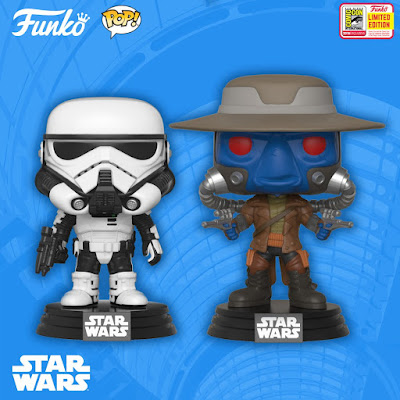 San Diego Comic-Con 2018 Exclusive Vinyl Figures Wave 2 by Funko – Star Wars Pop!