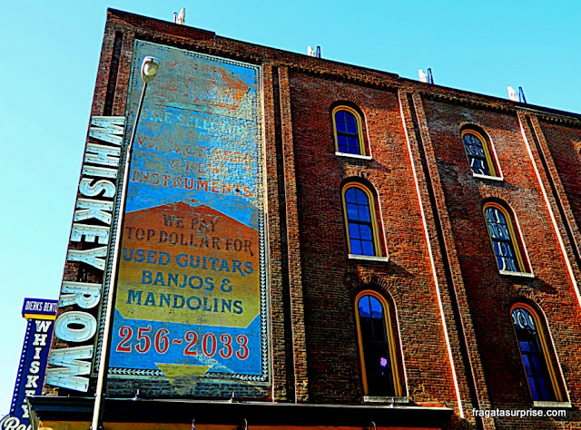 Edifício na Lower Broadway, Nashville, Tenessi