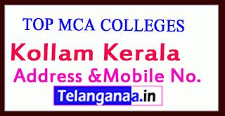 Top MCA Colleges in Kollam Kerala