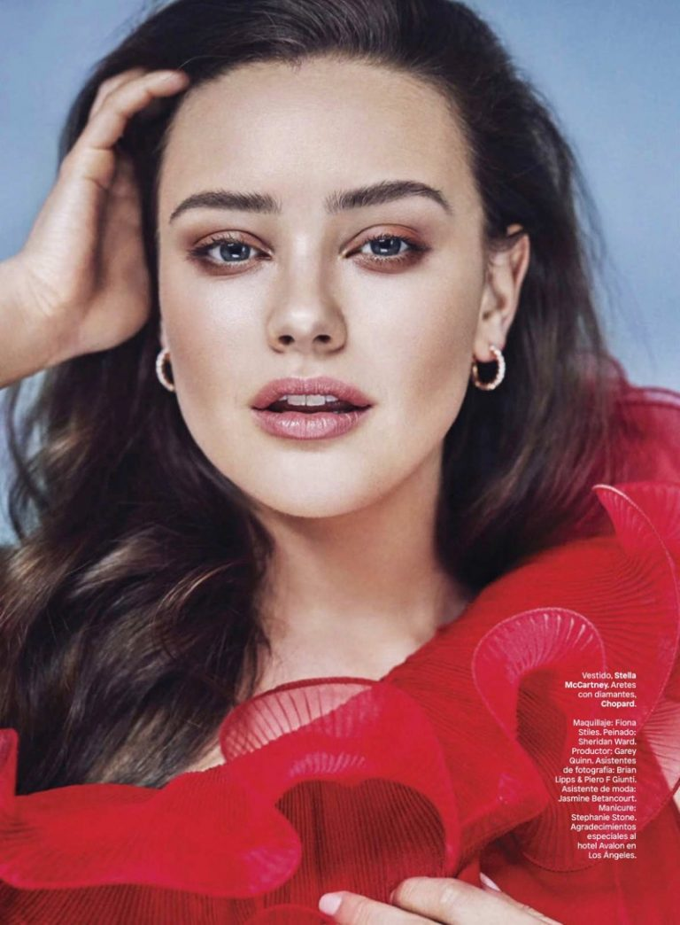 Katherine Langford for Glamour Mexico June 2018