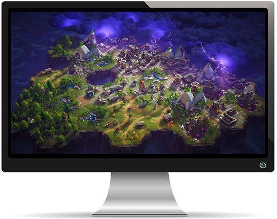 Fortnite Battle Royale Map - Fond d'écran en Full HD