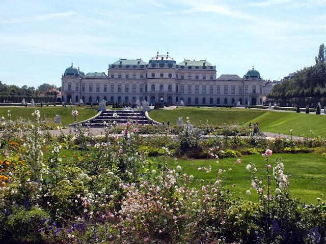 Jardines del Palacio belvedere Viena
