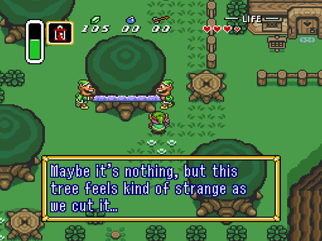 The Legend of Zelda: Link to the Past screenshot 2