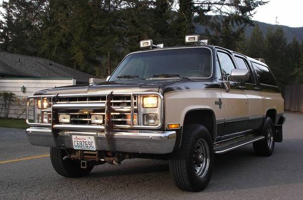 1985 Chevrolet Suburban K20 For Sale
