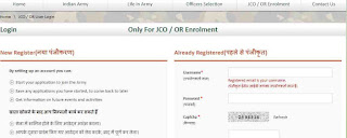 Join Indian Army Havildar Online Form 2018