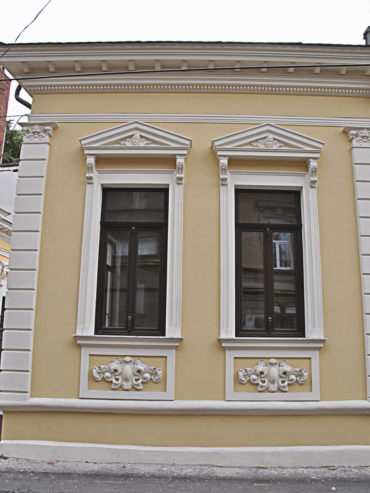renovare case vechi cu profile polistiren, case vechi cu fronton
