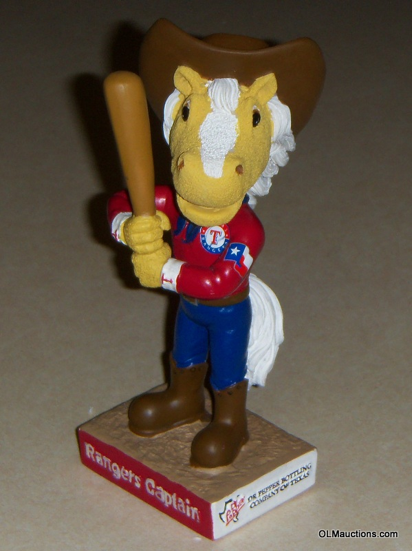 Bobbleheads For Sale Rangers Captain Texas Rangers Mascot