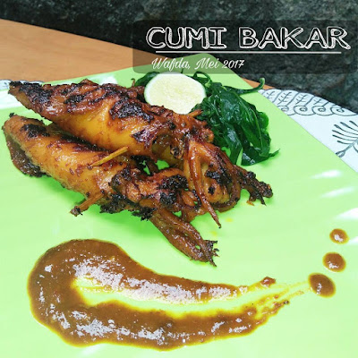 Resep Cumi Bakar By @dapurwafda
