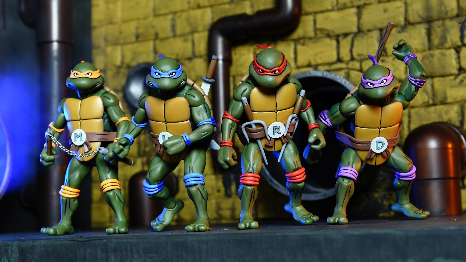 Teenage Mutant Ninja Turtles 2003 Toys : Nickalive neca unveils quot teenage mutant ninja turtles