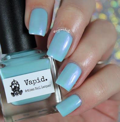 Vapid Lacquer Watercolor Octopus | Summer Shimmers Collection
