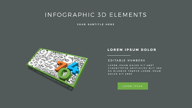 Fully Editable 3D Design Elements for PowerPoint Slide6
