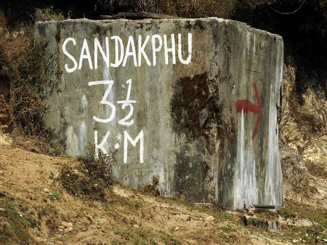 'Nuff said | Sandakphu - April 2016