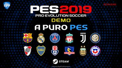 PES 2019 Demo APP Patch 2019