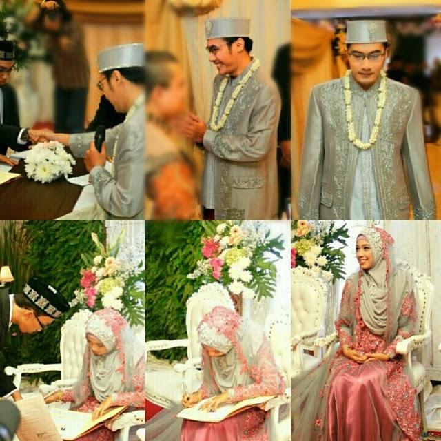 foto pernikahan ratu saskia bilqis