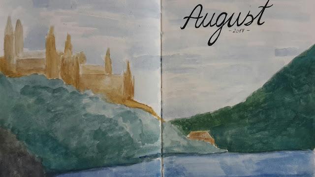 Sketchbook August 2017 - Procrastinating on much-needed practise