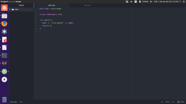 Atom no Ubuntu