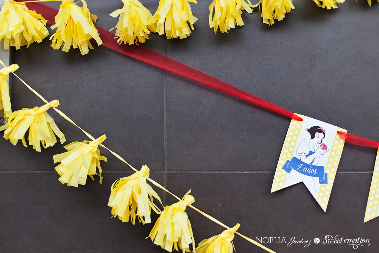 Fiesta De Cumpleanos Blancanieves Cumple 4