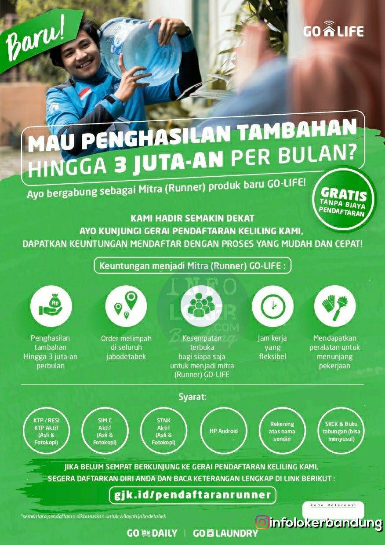 Lowongan Kerja GO-DAILY PT. Gojek Indonesia Bandung November 2018