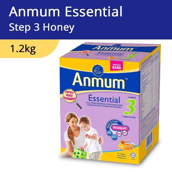 Anmum Essential Step 3 Honey 1.2kg