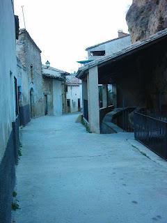 Beceite, Beseit, pueblo, casco urbano, acequia mayor, acequia, lavadero, lavaderos, roca, tosca 2