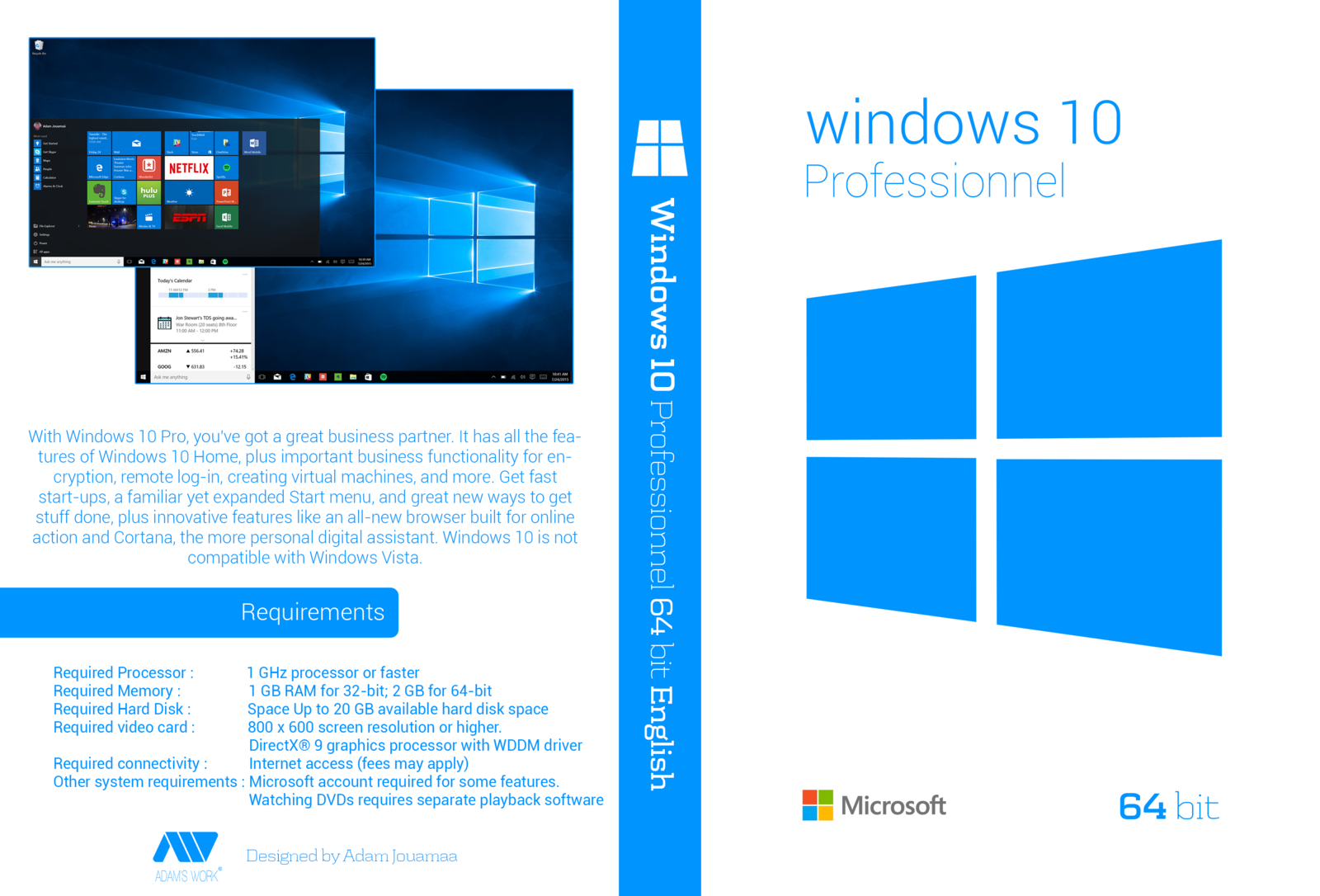 Download windows 10 pro agosto 2016 x64 pt br the mega for Window 10 pro