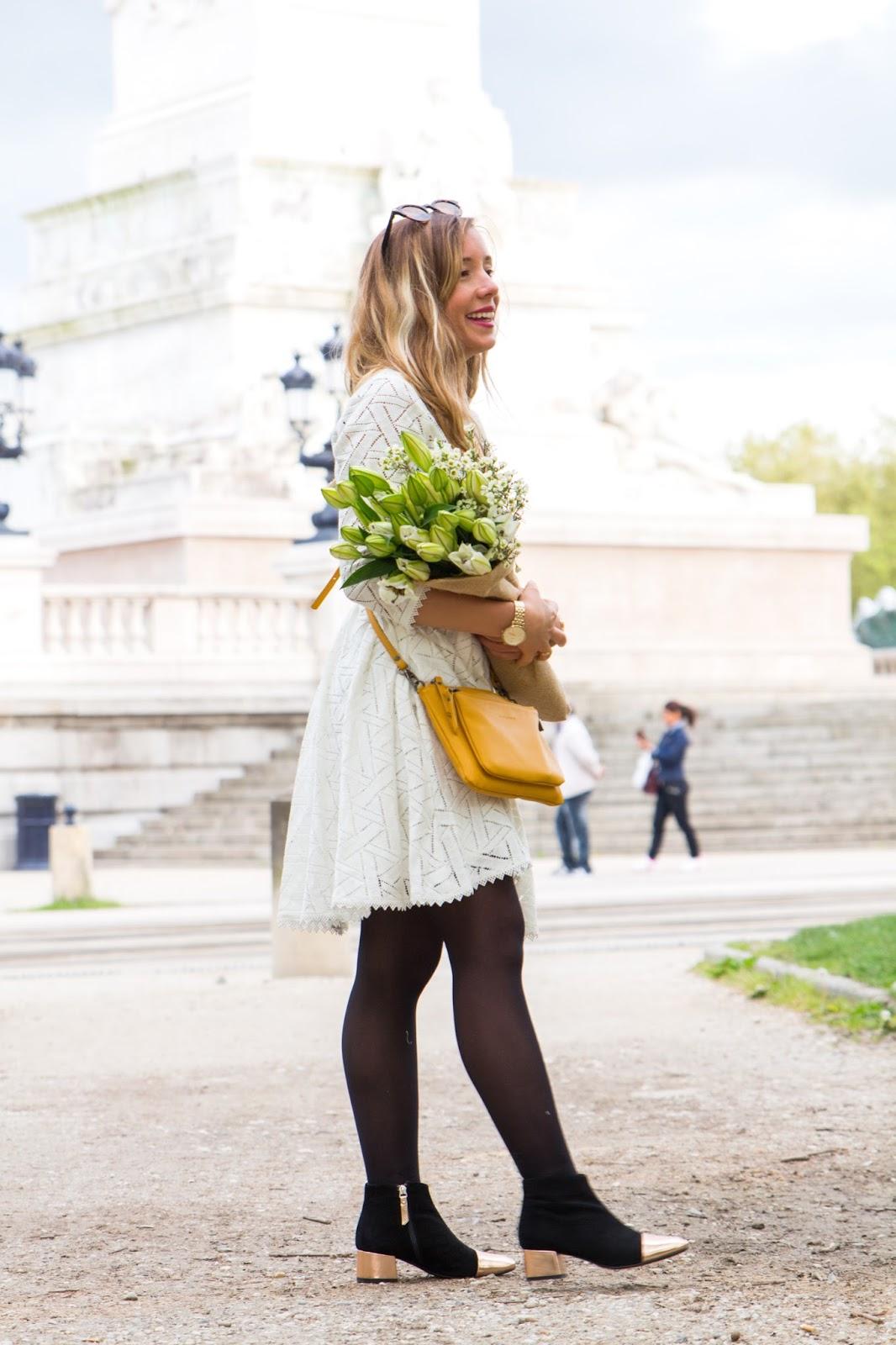 robe dentelle printemps