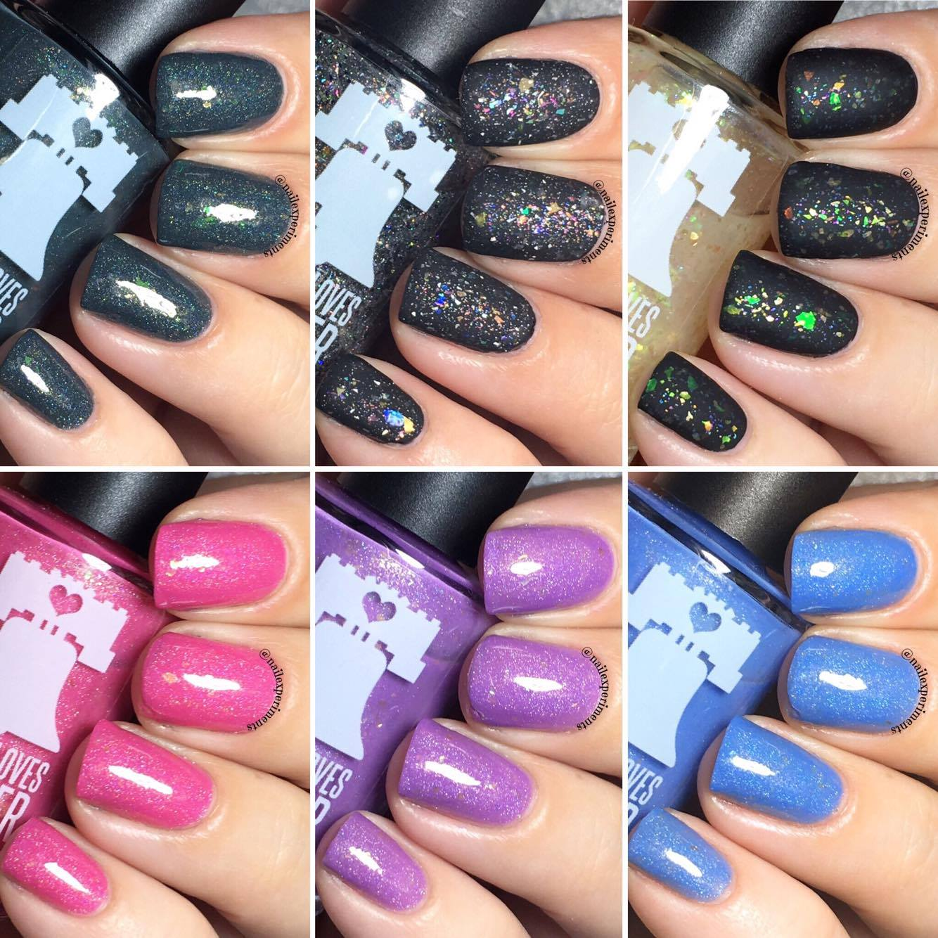 Nail Experiments: PHILLY LOVES LACQUER | THE GLEN COCO COLLECTION