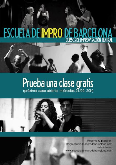 Clase gratis Impro en barcelona